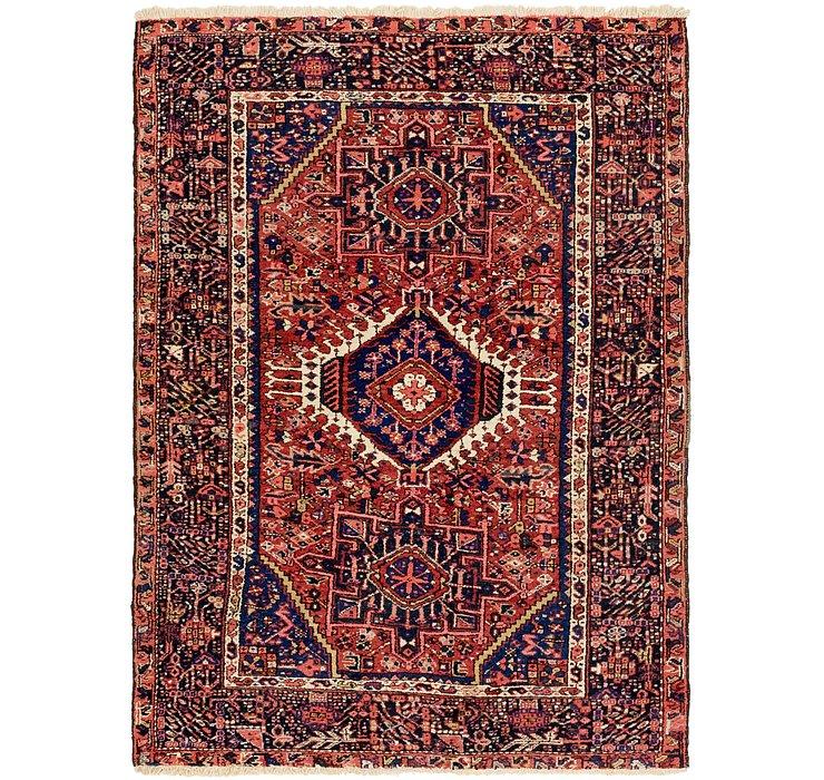 4' 10 x 6' 5 Karaja Persian Rug
