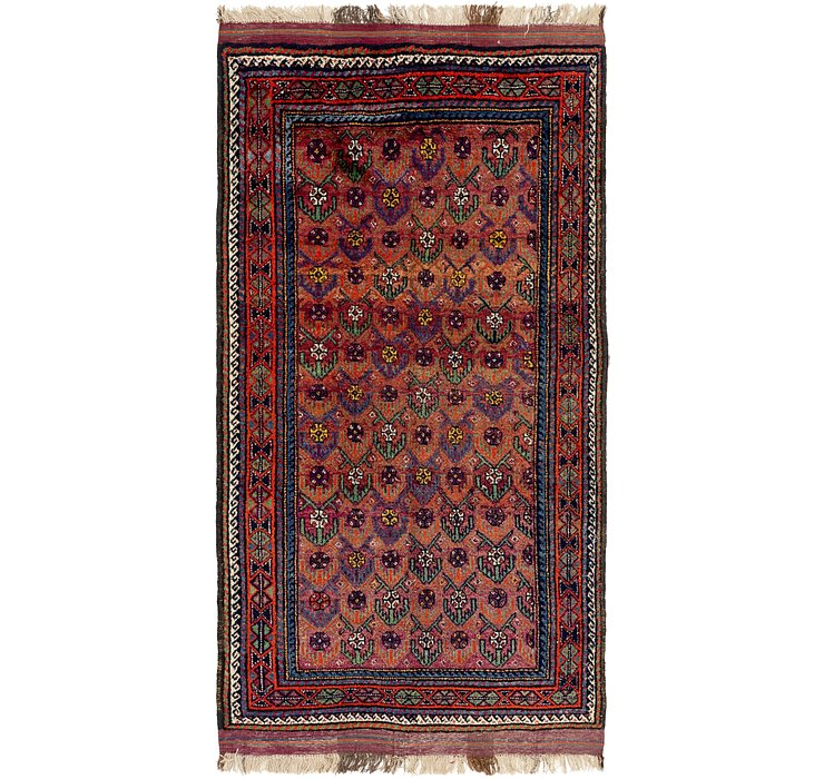 5' x 9' 8 Shiraz Persian Rug