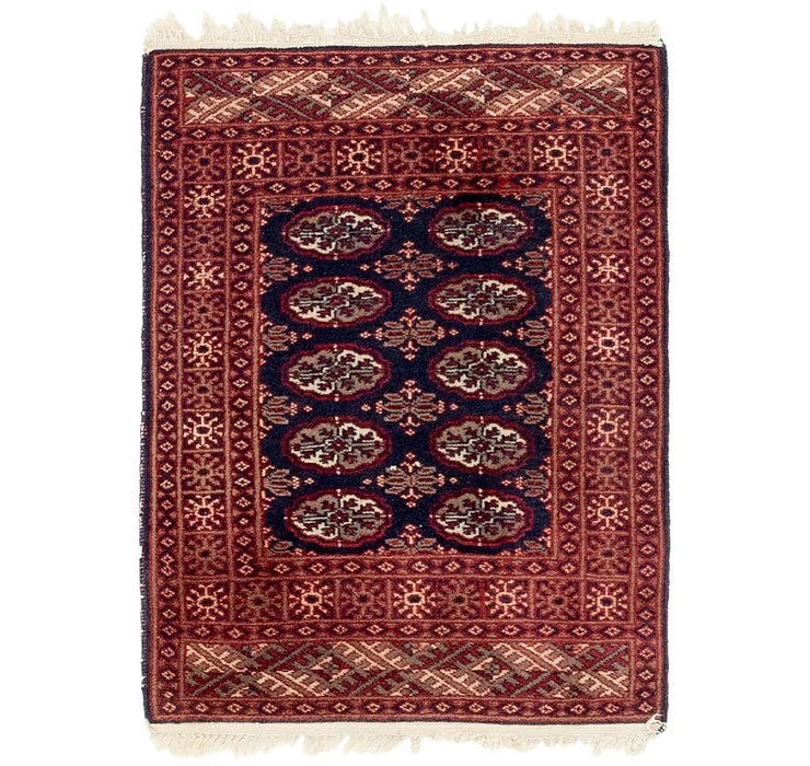 2' x 3' 8 Bokhara Oriental Rug