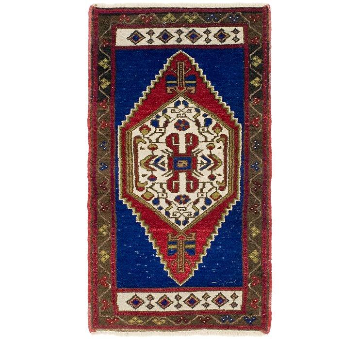 2' x 3' 6 Anatolian Rug