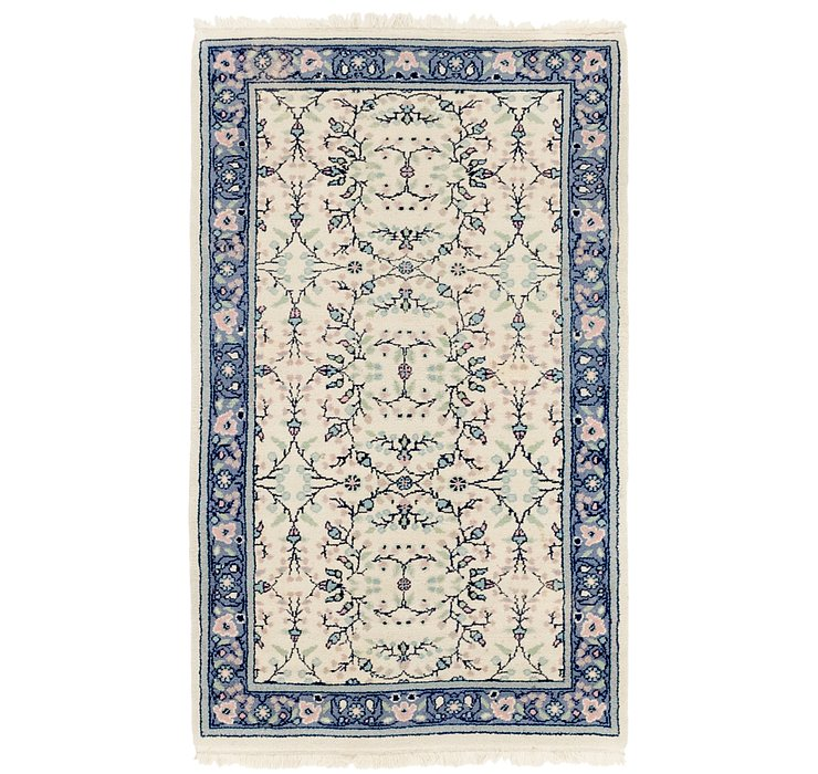 HandKnotted 3' x 5' Sarough Rug