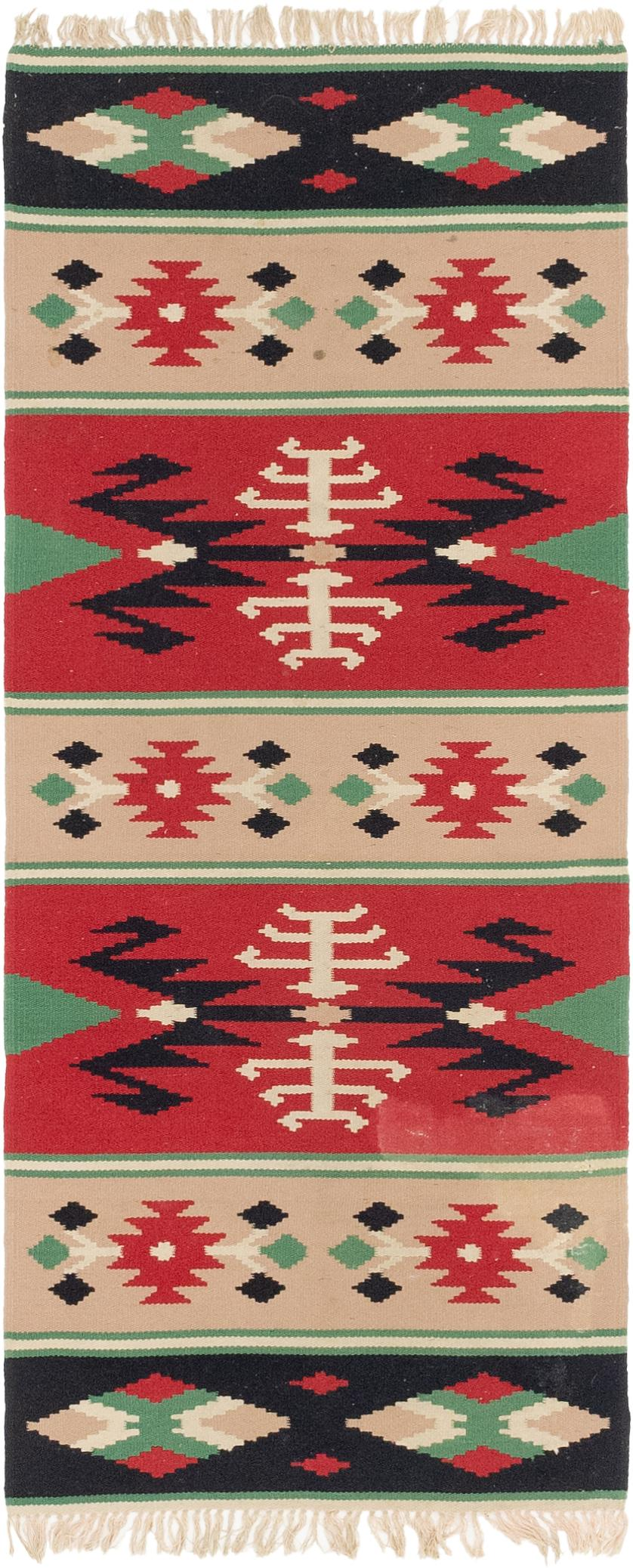 Red 2 3 X 5 10 Kilim Dhurrie Rug Handknotted Com