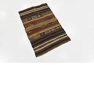 Link to 2' 5 x 3' 9 Kilim Fars Rug