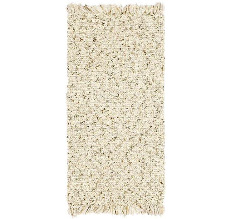 2' 2 x 4' 4 Moroccan Rug