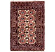 Link to 4' 2 x 6' Bokhara Persian Rug