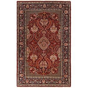 4' 8 x 7' 4 Kashan Oriental Rug