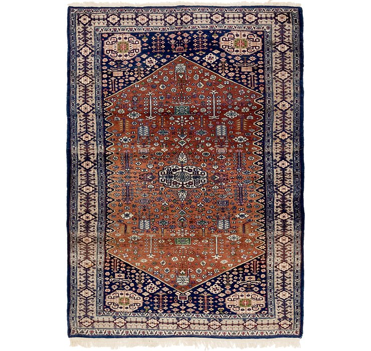 4' 2 x 6' Bokhara Oriental Rug