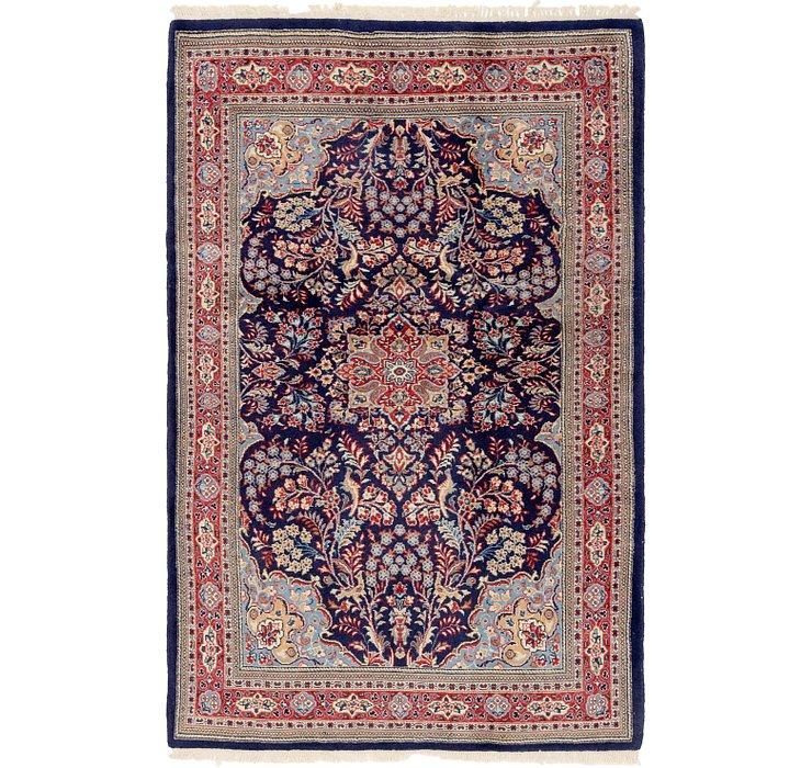 4' 6 x 6' 10 Tabriz Oriental Rug