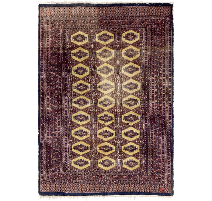 4' 3 x 6' 2 Bokhara Oriental Rug
