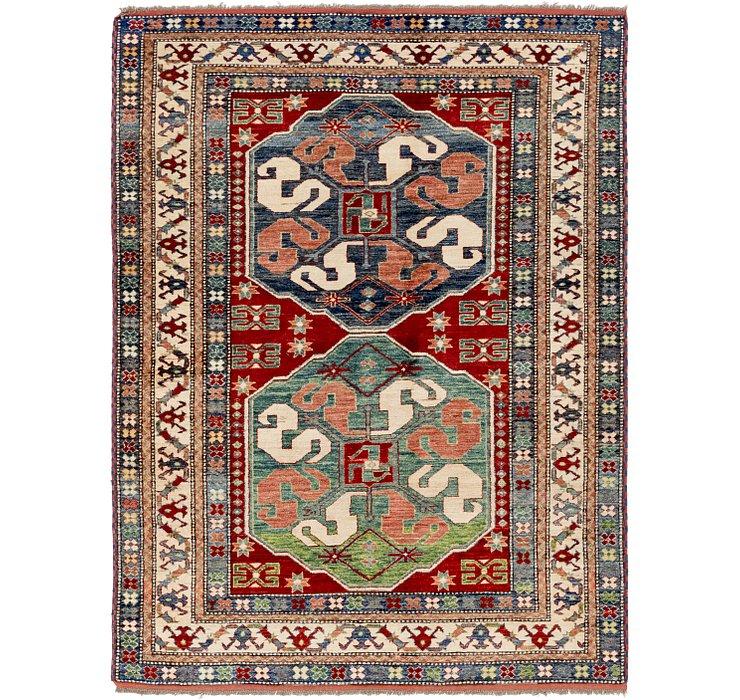 5' x 6' 9 Kazak Oriental Rug