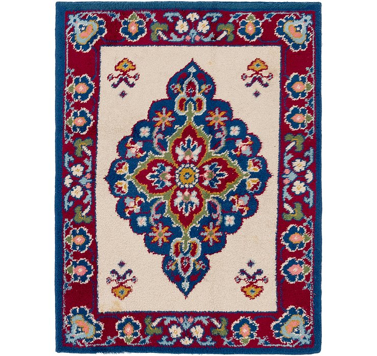 5' x 6' 7 Moroccan Rug