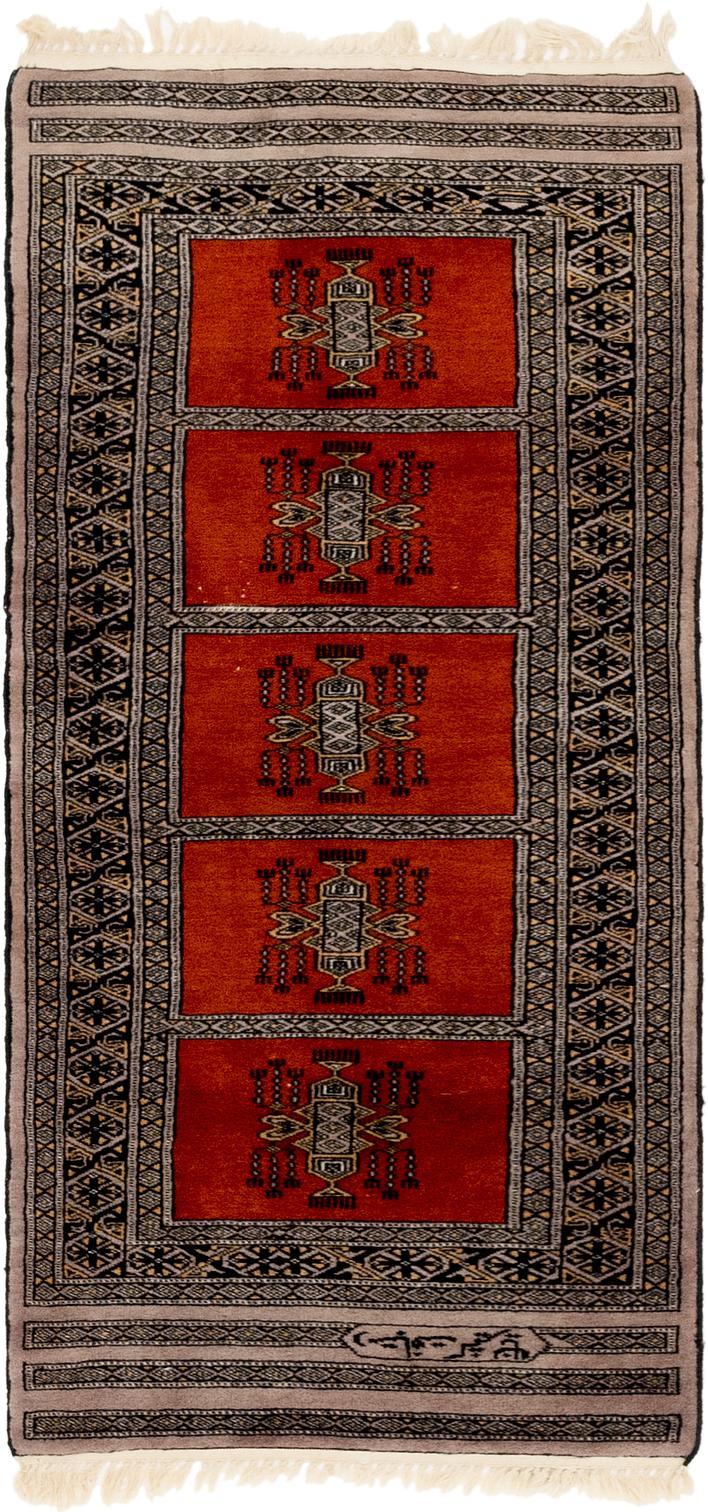 Terracotta 2 2 X 5 Bokhara Oriental Runner Rug Area Rugs