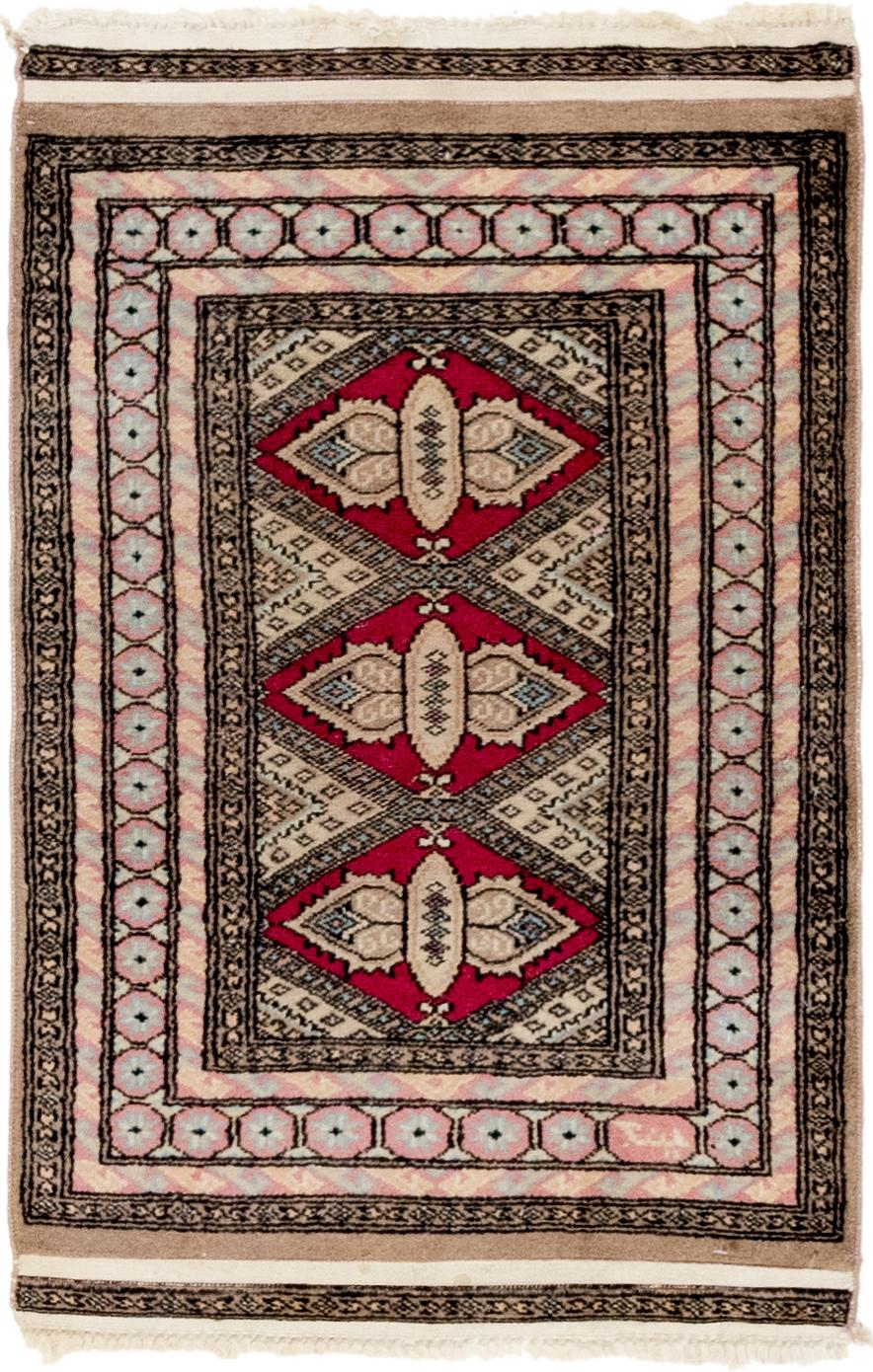 Magenta Handknotted 2 X 3 4 Bokhara Oriental Rug Area Rugs