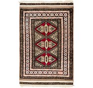 Link to 2' x 3' 4 Bokhara Oriental Rug
