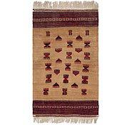 Link to 2' 10 x 5' 2 Kilim Afghan Rug