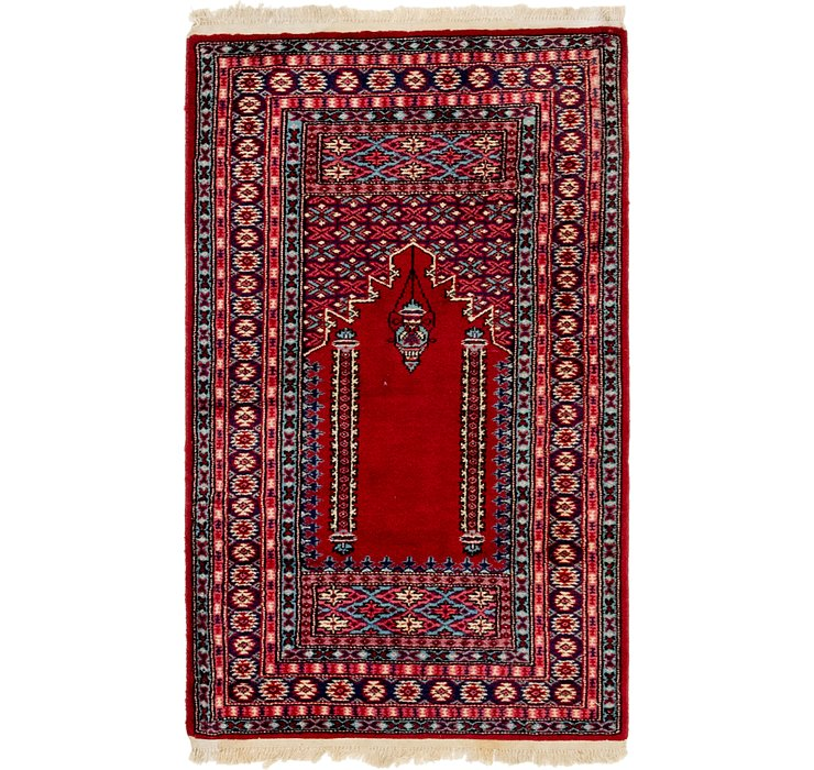2' 8 x 4' 6 Lahour Oriental Rug