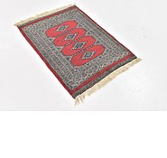 Link to 2' 2 x 3' Bokhara Persian Rug
