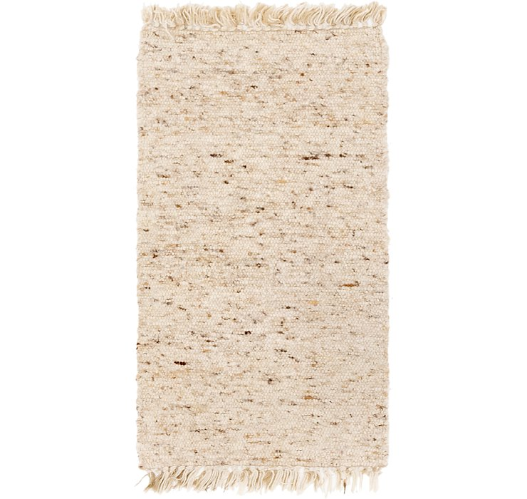 HandKnotted 2' x 4' Moroccan Rug