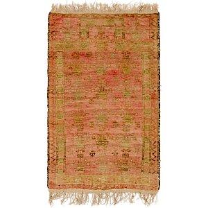 2' 4 x 4' 3 Balouch Persian Rug