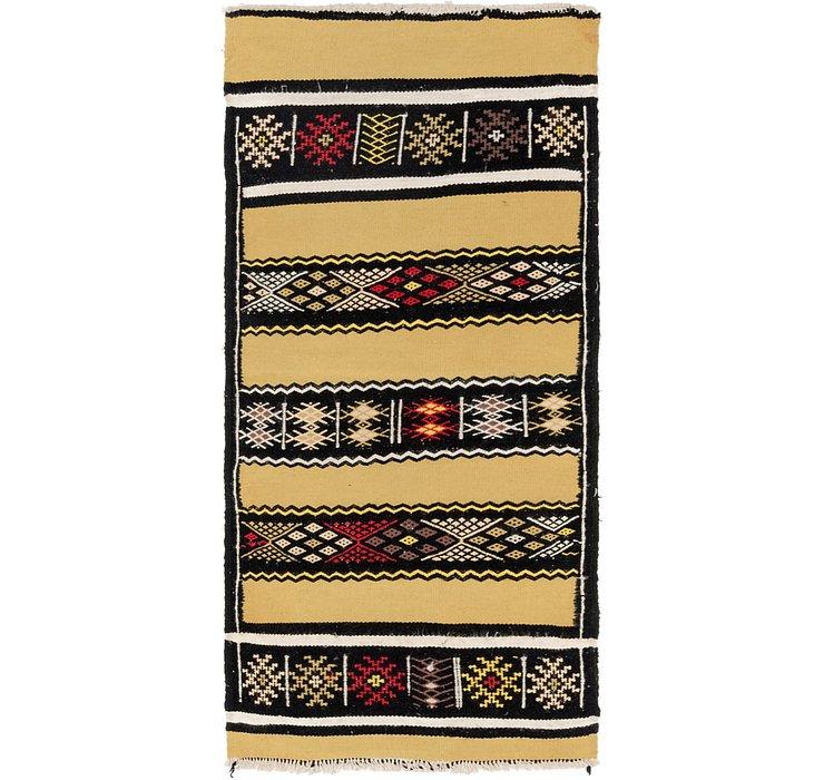 2' 3 x 5' Moroccan Runner Rug