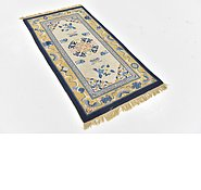 Link to 2' 5 x 4' 6 Antique Finish Oriental Rug