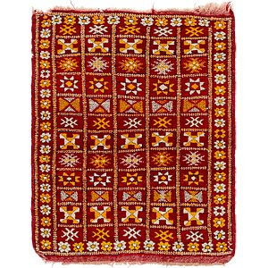 HandKnotted 3' x 4' Moroccan Rug