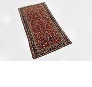 Link to 2' 8 x 5' Hossainabad Persian Rug