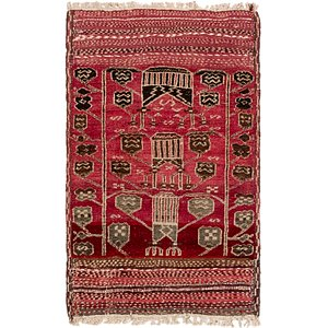 Link to 80cm x 127cm Moroccan Oriental Rug item page