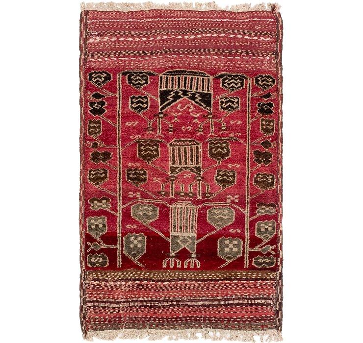 2' 7 x 4' 2 Moroccan Oriental Rug