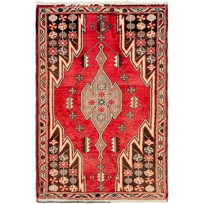 2' 9 x 4' Mazlaghan Persian Rug
