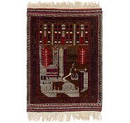 Link to 2' 9 x 4' 5 Balouch Persian Rug