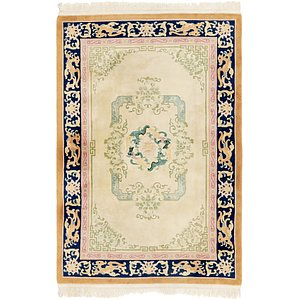 6' x 9' Antique Finish Rug