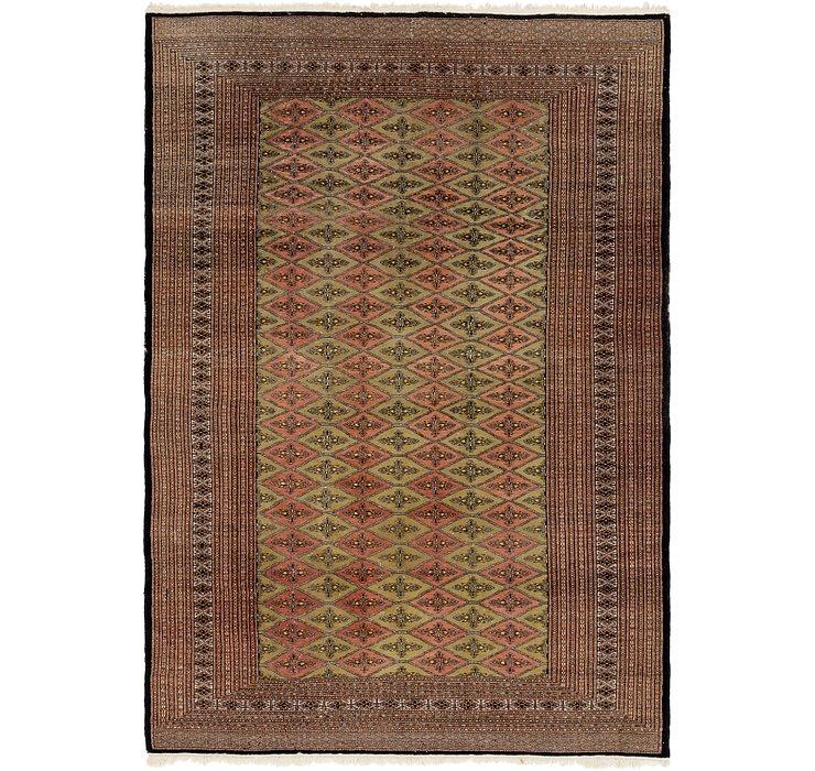 6' 2 x 8' 10 Bokhara Oriental Rug
