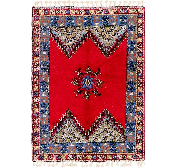 5' 6 x 7' 10 Moroccan Rug