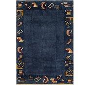 Link to 6' x 8' 9 Shiraz-Gabbeh Persian Rug