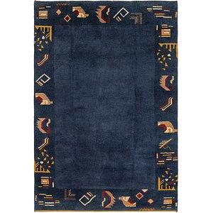 HandKnotted 6' x 8' 9 Shiraz-Gabbeh Persian Rug