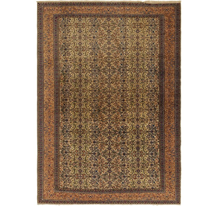 6' 9 x 9' 5 Hereke Oriental Rug