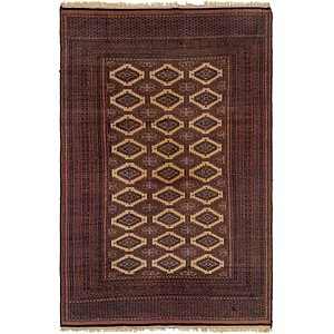 Link to 6' x 9' 4 Bokhara Oriental Rug item page