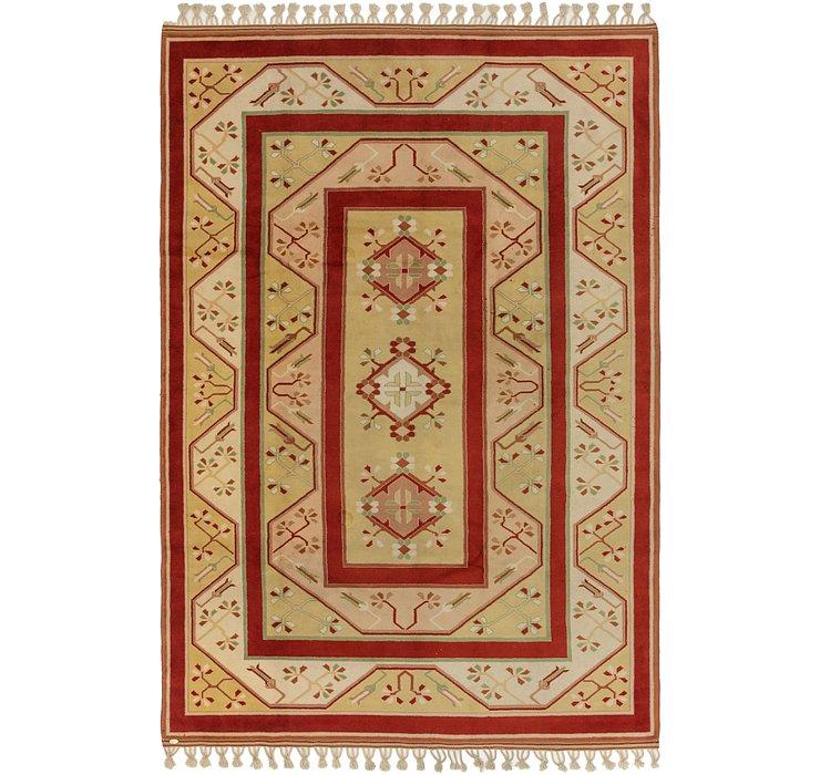 7' 2 x 10' 9 Anatolian Oriental Rug