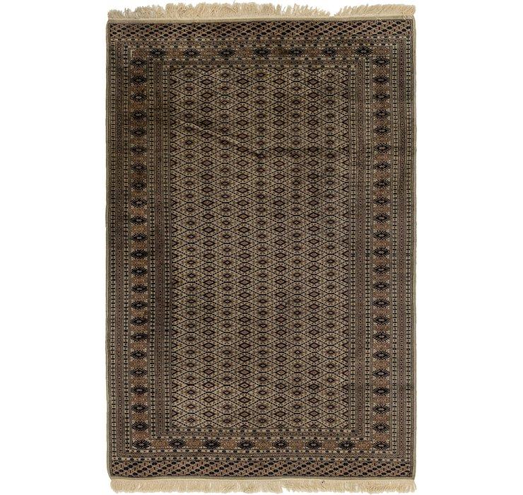5' 5 x 8' 7 Bukhara Oriental Rug