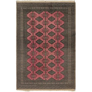 HandKnotted 6' 4 x 9' 6 Bokhara Oriental Rug