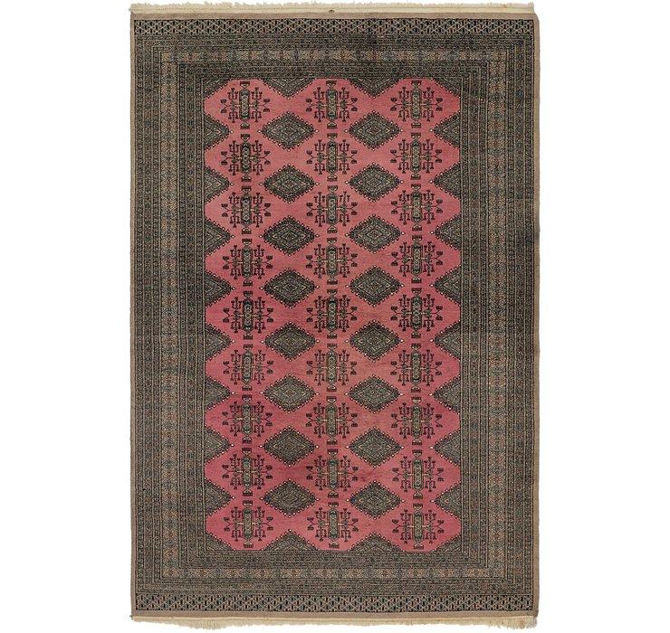 6' 4 x 9' 6 Bokhara Oriental Rug