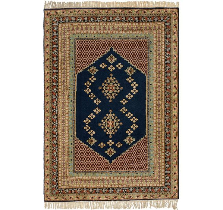 6' 8 x 10' 7 Moroccan Rug