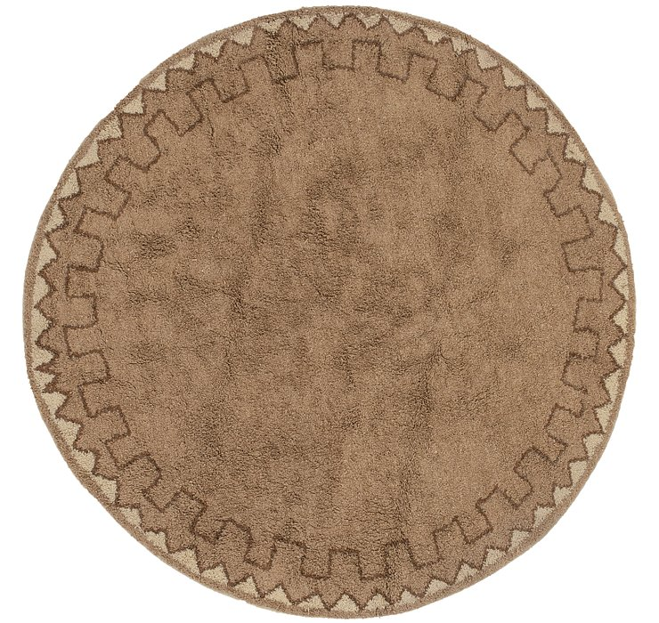 9' x 9' Moroccan Round Rug