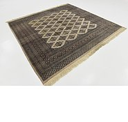 Link to 7' 10 x 8' 3 Bokhara Oriental Square Rug
