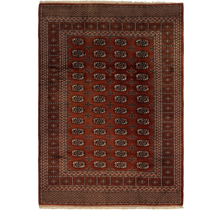7' 5 x 10' 5 Bokhara Oriental Rug