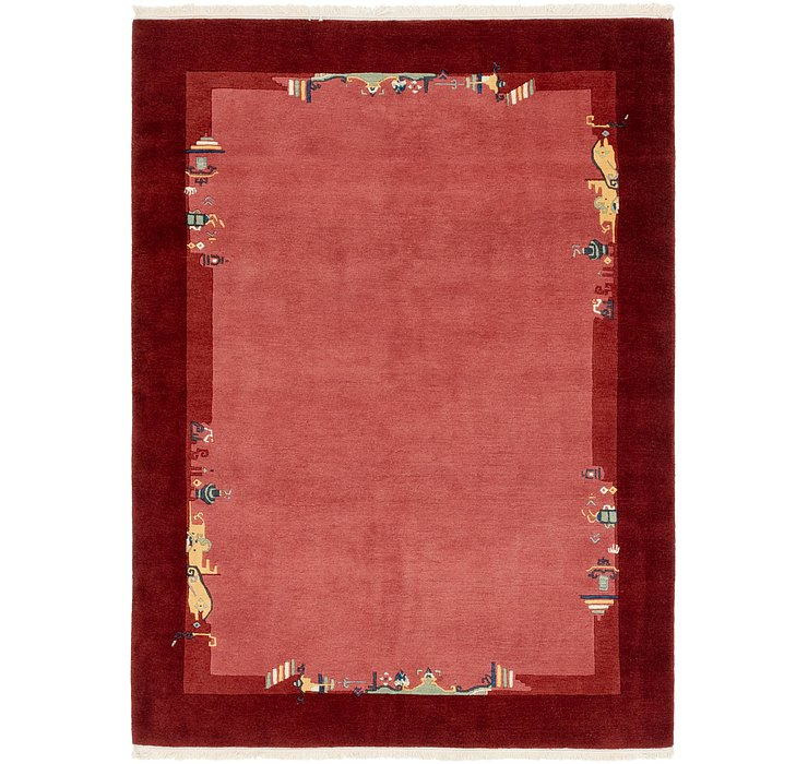 HandKnotted 5' 9 x 7' 9 Nepal Rug