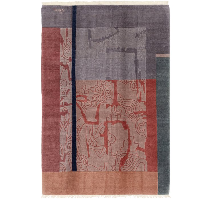 HandKnotted 6' 6 x 9' 9 Nepal Rug