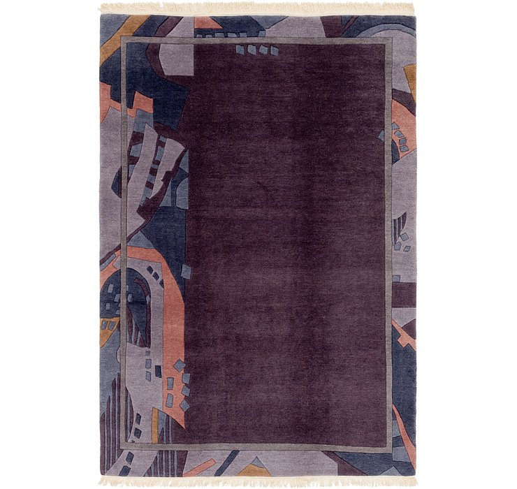 HandKnotted 6' 7 x 9' 10 Nepal Rug