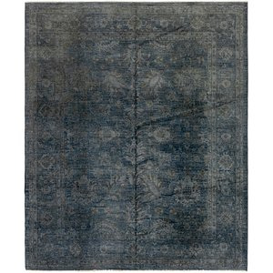 HandKnotted 8' x 9' 7 Over-Dyed Ziegler Rug